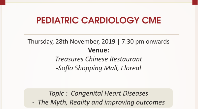 CME PEDIATRIC CARDIOLOGY